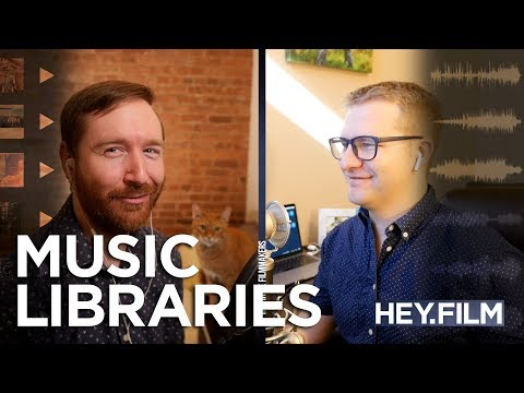 Licensing Tracks from Music Libraries   Hey.film podcast ep47