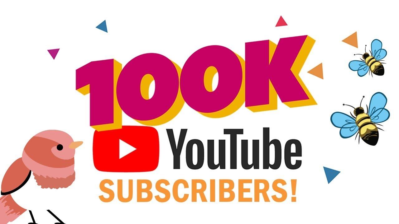Celebrating 100,000 Subscribers!