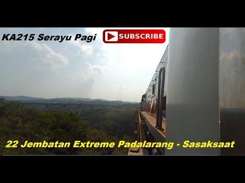Jembatan2 Kereta Extreme Jakarta~Bandung