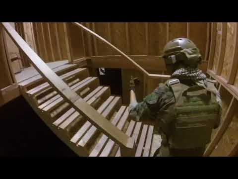How to properly clear a room ( CQB City Stockton, Ca )