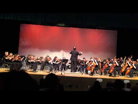 Northmont Middle School Winter Orchestra 2015