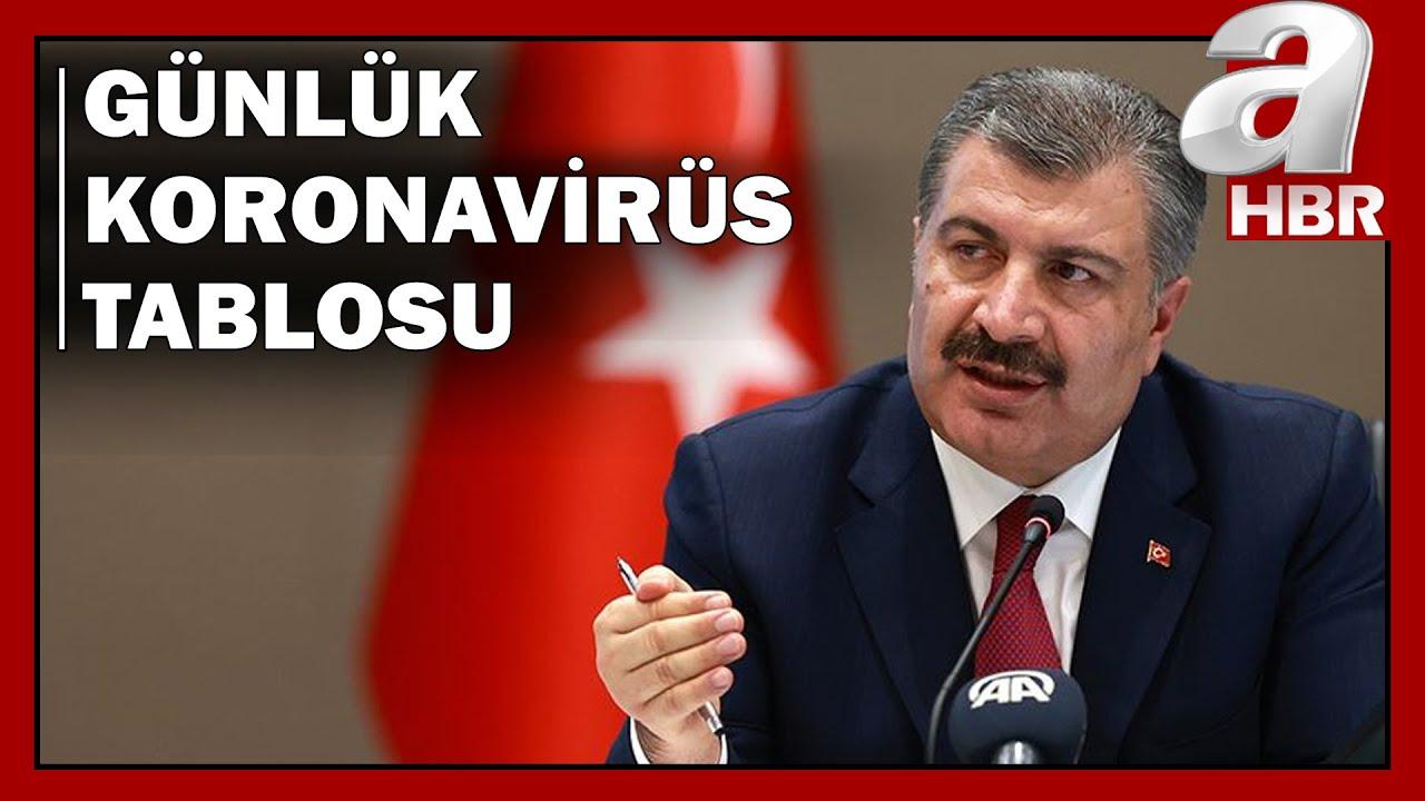 Türkiye'nin Günlük Koronavirüs Bilançosu / A Haber