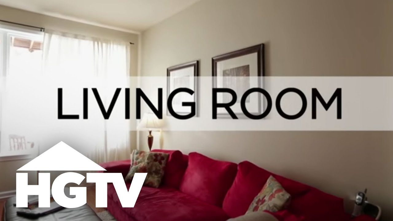 How to decorate a living room for cheap hgtv youtube - Decor for small living room on budget ...