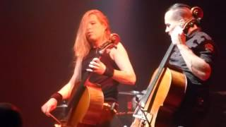 Apocalyptica - Grace LIVE [HD] 4/16/15