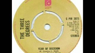 The Three Degrees - Year of Decisión (1973) PIR
