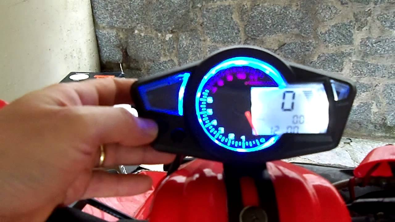 chinese speedometer for motorcycles atvs not allowing to enter on the config screen youtube [ 1280 x 720 Pixel ]