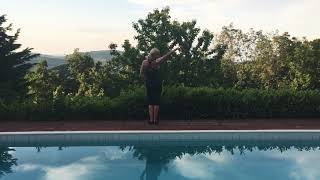 Reggaetón Lento (Remix) - Little Mix&CNCO-Zumba Choreography practice from backwards by Sylvia Barta