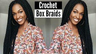 tutorial   janet collection havana mambo crochet box braids in less than 2 hours