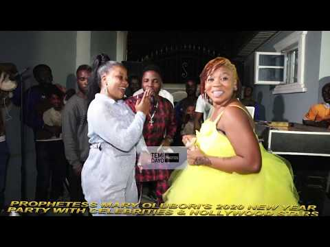 NOLLYWOOD ACTRESS, SEYI EDUN & WUNMI TORIOLA TAKES D DANCE FLOOR AT PROPHETESS MARY OLUBORI'S PARTY