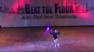 Ditya Bhande Super Dancer Guest Performance - Beat The Floor INDIA 2017