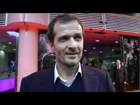 The Dark Knight Rises European Premiere - David Heyman Interview