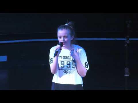 UNCOVER  ZARA LARSSON performed by REBECCA ATKINSON at TeenStar Dewsbury Regional Final