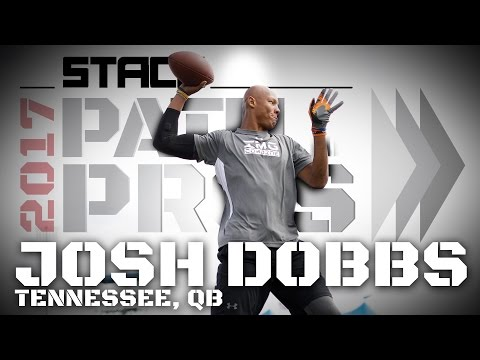 2017 Path to the Pros: Josh Dobbs, Tennessee QB