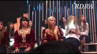 lovelyz and Gidle React To Mamamoo - Destiny [ Queendom Final]
