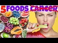 TOP 5 Anti CANCER Benefits FRUITS You Didn't Know. MUST EAT These Fighting Cancer NATURALLY Fruits