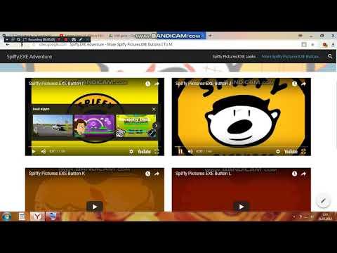 My Website #1: Spiffy EXE Adventure