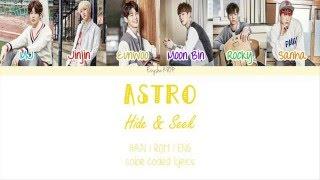 Video ASTRO (아스트로) - Hide & Seek (숨바꼭질) (Han | Rom | Eng Color Coded Lyrics) download MP3, 3GP, MP4, WEBM, AVI, FLV Juli 2018