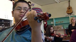 The gift of music for one Saskatoon school is helping students connect with Métis culture