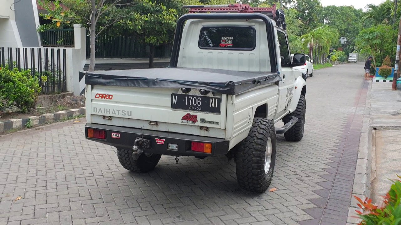 Dijual Taft Hiline Pickup Asli 4x4 Diesel Th 1991 Kondisi Super Antik Full Option Rugger 199jt Youtube