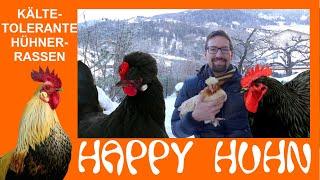 Happy Huhn Folge 124: Kältetolerante Hühnerrassen - robuste, abgehärtete Hühner für den Winter