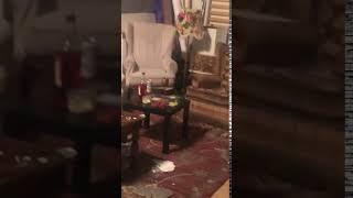 The water leak in communal room2