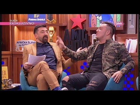 Rudar Sasa koji prica i peva unazad - Ami G Show S09