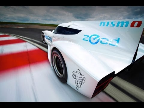 2013 Le Mans 24 Hours Nissan Zeod Rc The Worlds Fastest Electric
