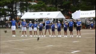大和小学校運動会で のん も応援団!