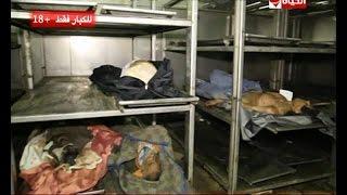 بوضوح - للكبار فقط | عمرو الليثي داخل ثلاجة حفظ الموتى في مشرحة زينهم ويتفقد الجثامين