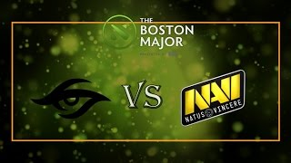 Team Secret vs Natus Vincere - The Boston Major: Europe Qualifier 2016