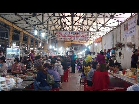 Thiên đường quà vặt ở Hải Phòng trong chợ Cát Bi