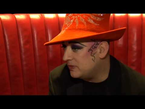 Boy George Talks About His Song With Mark Ronson