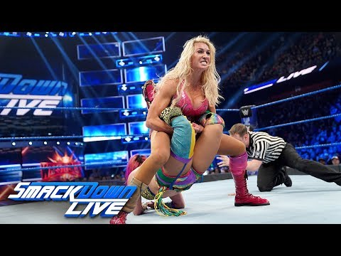 HINDI - Asuka vs. Charlotte Flair - SmackDown Women's Title Match: SmackDown LIVE, 26 March, 2019