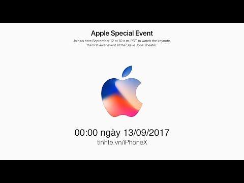 Tường thuật và Bình luận sự kiện ra mắt iPhone X, iPhone 8 và iPhone 8 Plus | Tinhte.vn