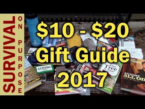30 Gift Ideas Under $20  - Outdoor and Tactical Gift Ideas 2017