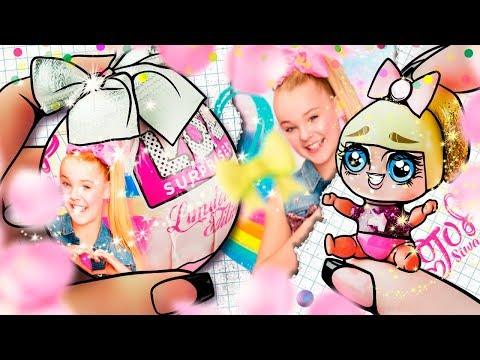 🎀 JOJO SIWA Limited Edition LOL BALL 🎀 + Miniature Accessories | TUTORIAL / DIY / REVIEW