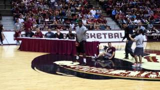 Repeat youtube video Jameis Winston throws bomb on basketball court