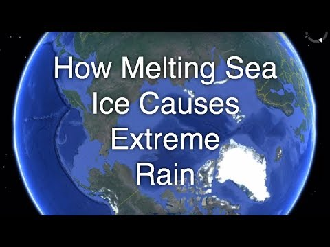 How Melting Artic Sea Ice Causes Weather Pattern Destabilisation