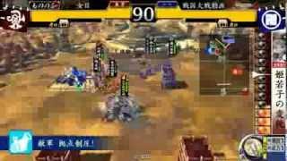 戦国大戦Ver2.20A 天女の導きVS鬼柴田の意地