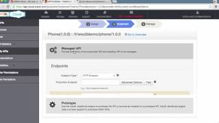 Create a simple API and publish to your web portal, WSO2 API Cloud Tutorial 1