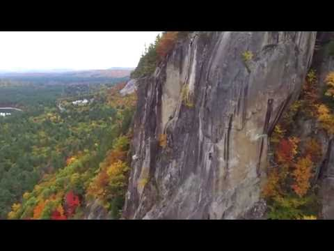 Cathedral Ledge, North Conway, NH - 10.16.2016 - DJI Phantom