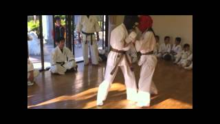 義和流拳法 昇段10人組手 悠斗 1人動画に入っていません。