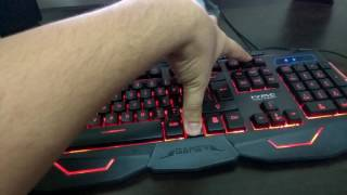 Budget Gaming Keyboard : Scorpion Marvo KM400 USB Wired