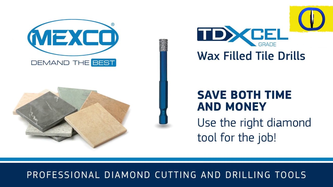 Mexco diamond tile drill bits youtube mexco diamond tile drill bits dailygadgetfo Gallery