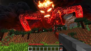 XXL-LAVA MONSTER ANGRIFF IN MINECRAFT