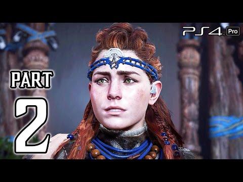 Horizon Zero Dawn Walkthrough PART 2 (PS4 Pro) No Commentary Gameplay @ 1080p HD ✔