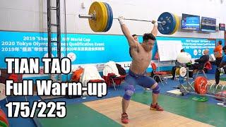 TIAN Tao Full Warm-up   2019 IWF World Cup in Tianjin