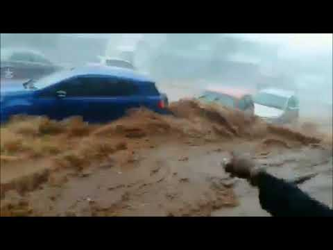 #Tornado Path: [Watch] Storm System carrying Krugersdorp tornado hits Durban