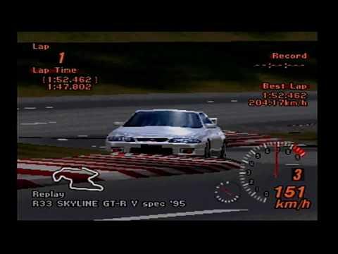 Gran Turismo Replay History: Trial Mountain Circuit