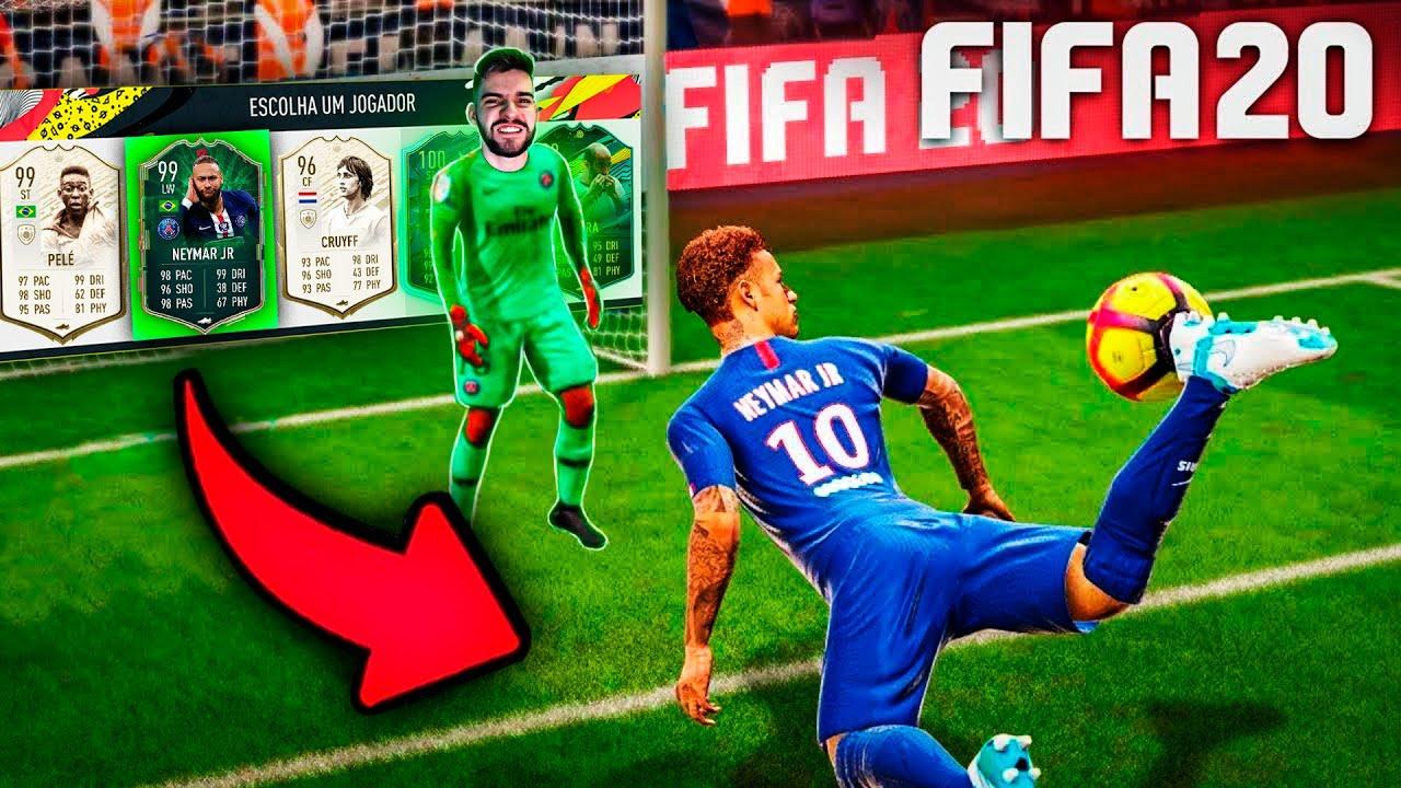 NOVA SÉRIE!!! O TIME DO NEYMAR no FUT DRAFT 196!!! Draft Jogador #01 FIFA 20